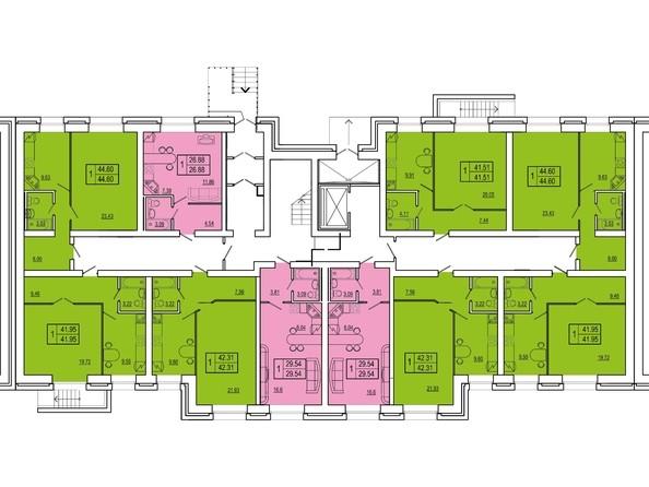 2 секция 1 этаж
