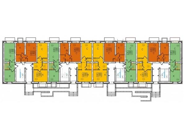 Блок 5. Планировка 1 этажа