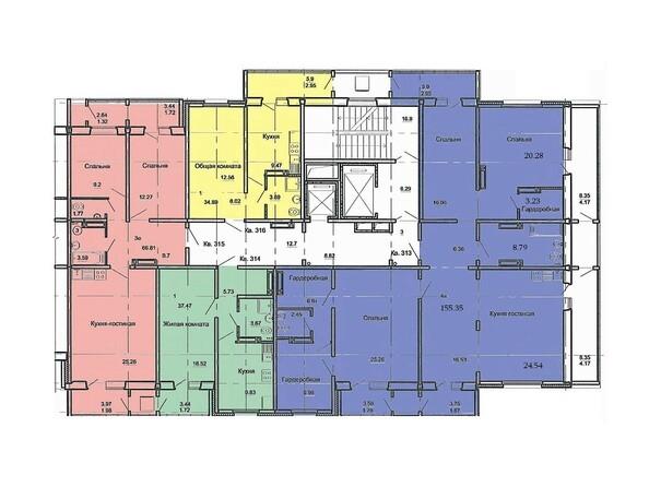 План 17 этажа, 3 б/с
