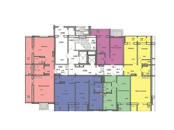 План 1 этажа, 1 б/с