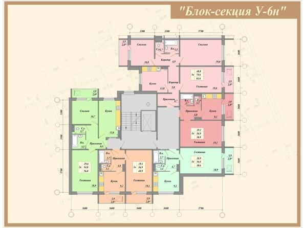 Типовая планировка б/с У-6н