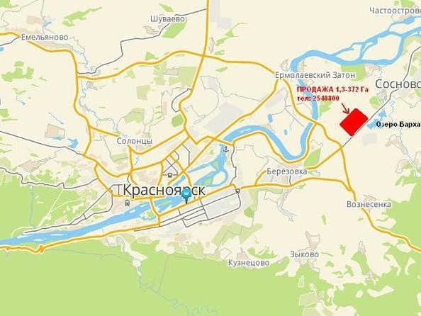 Продам  земельный участок, 2560 соток, Березовка. Фото 1.