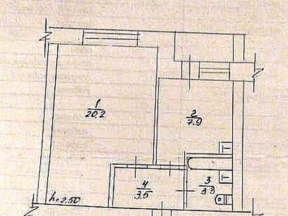Продам 1-комнатную, 36.2 м², Космонавтов ул, 26. Фото 4.