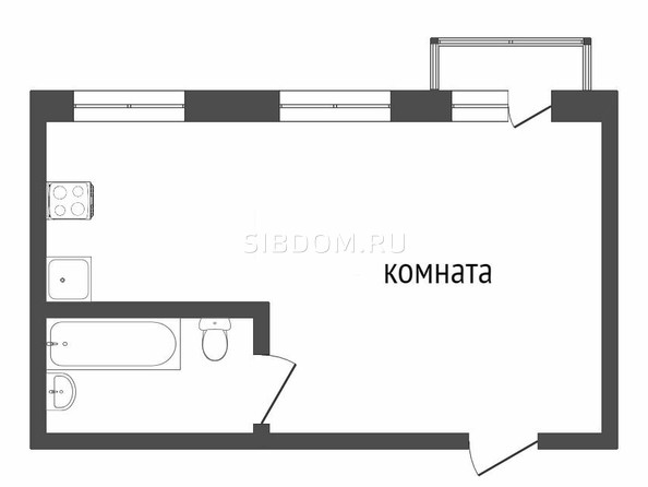 Продам 1-комнатную, 49 м2, Сахьяновой ул, 23В. Фото 1.