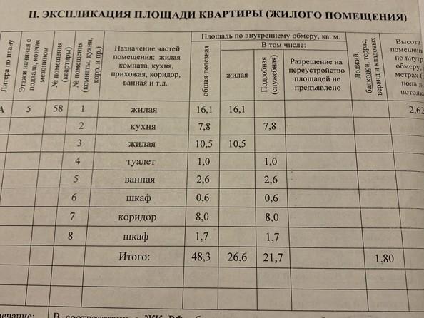 Продам 2-комнатную, 50 м2, Гагарина ул, 77. Фото 2.