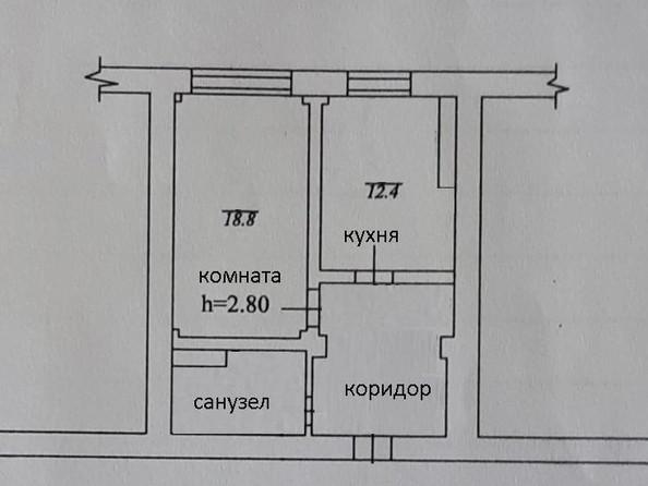 Продам 1-комнатную, 49 м2, Ядринцева ул, 23/2. Фото 3.