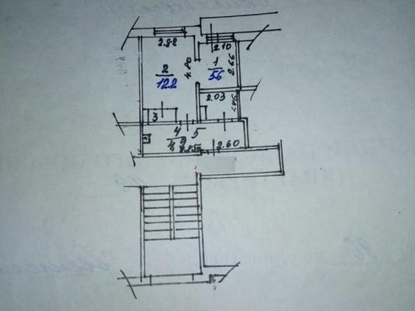 Продам 2-комнатную, 29.9 м2, Советская ул, 96. Фото 11.