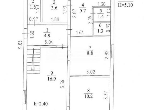 Продам дом, 107 м², Кемерово. Фото 10.