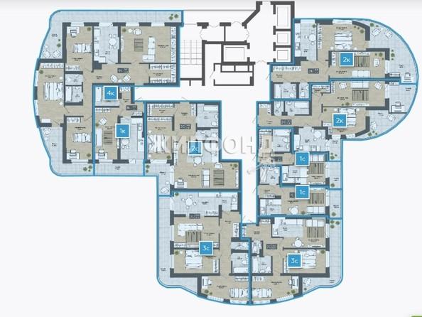 Продам 2-комнатную, 66.77 м2, СОСНЫ, б/с 4,3. Фото 13.
