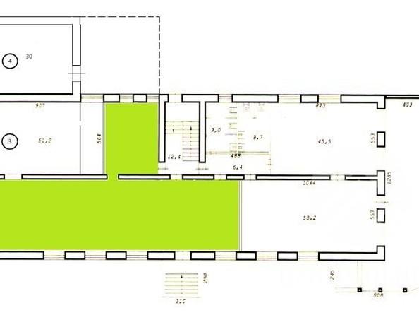 Сдам торговое помещение, 124.6 м², Бориса Богаткова ул. Фото 6.
