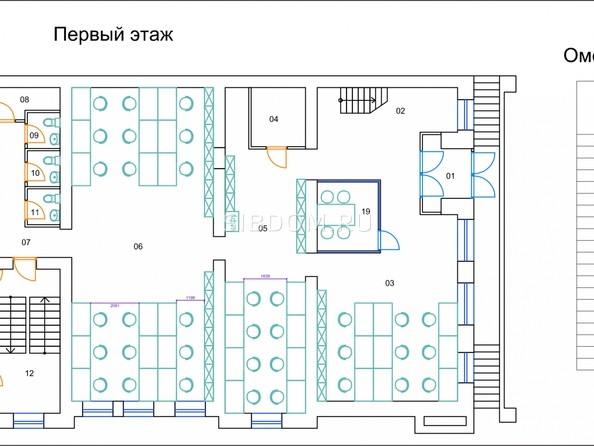 Продам офис, 641 м², Пушкина ул, 115. Фото 11.