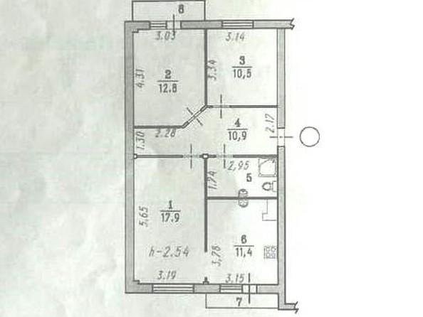 Продам 3-комнатную, 68.6 м2, Омская ул, 125. Фото 30.