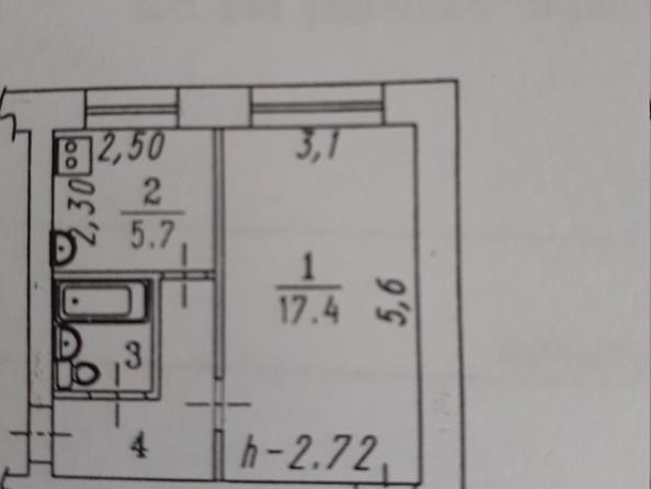 Продам 1-комнатную, 32 м², Гуртьева ул, 3а. Фото 10.